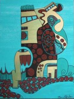 mouse - acrylic on canvas - 90x80 - 2011