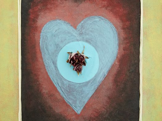 broken heart - mixed technic on wood - 45x60 - 2015