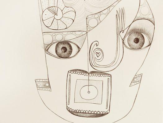 portrait - pencil on paper - A4