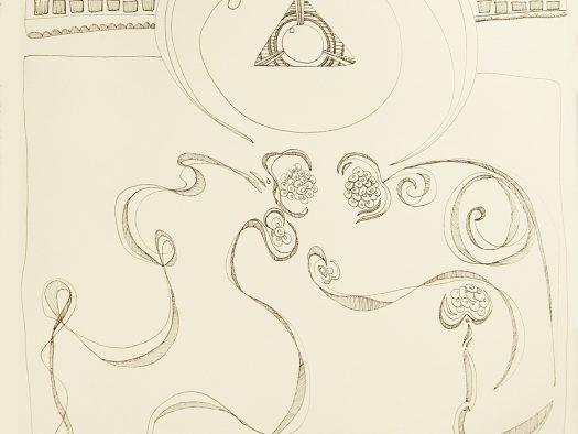 composition - pen on paper - 25x25 - 2015