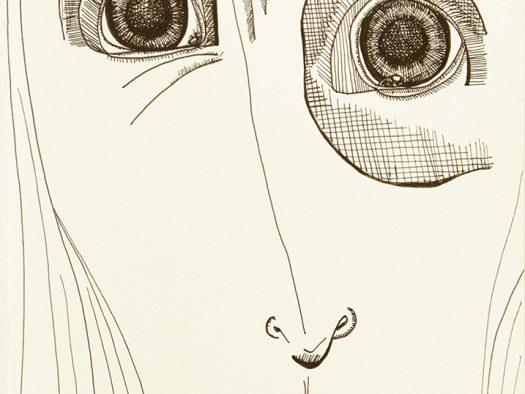afraid - pencil on paper - 10x12 - 2014