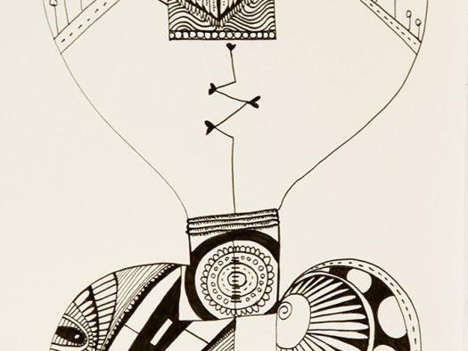 Idea - pencil on paper - 10x12 - 2014